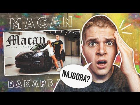 BAKA PRASE – MACAN (Official Reaction Video) | najgora do sad?