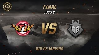 SKT x G2 (Final - Jogo 3) - MSI 2017