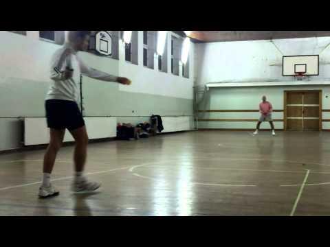 lepikoja - SpeedBadminton training - Koja and Mata - Belgrade - part 02/03