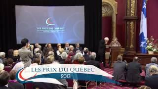 Prix du Québec 2013 - Cérémonie