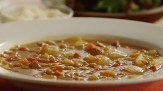 Soup Recipe - How To Make Lentil Soup