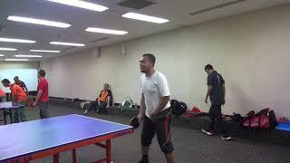 latihan ping    pong