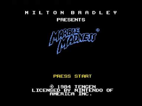 Marble Madness (NES) Music - Level 2 Theme
