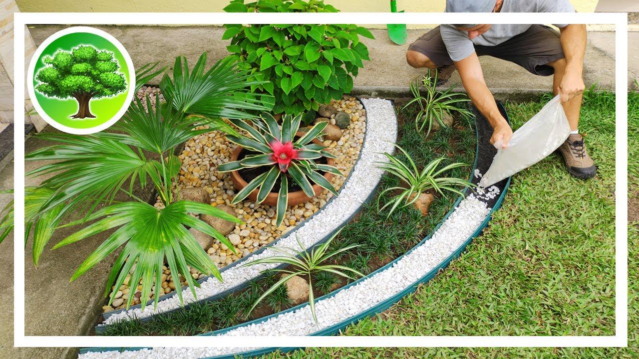 Diy Decoracao De Jardim 16 Jardim Exotico Com Pedras Youtube Backyard garden ne demek