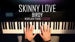 How To Play Birdy Skinny Love Piano Tutorial Lesson Sheets.mp3
