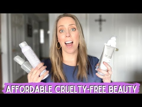 CRUELTY-FREE MAKEUP BRANDS / Affordable best cruelty free skincare and haircare 🐰💗