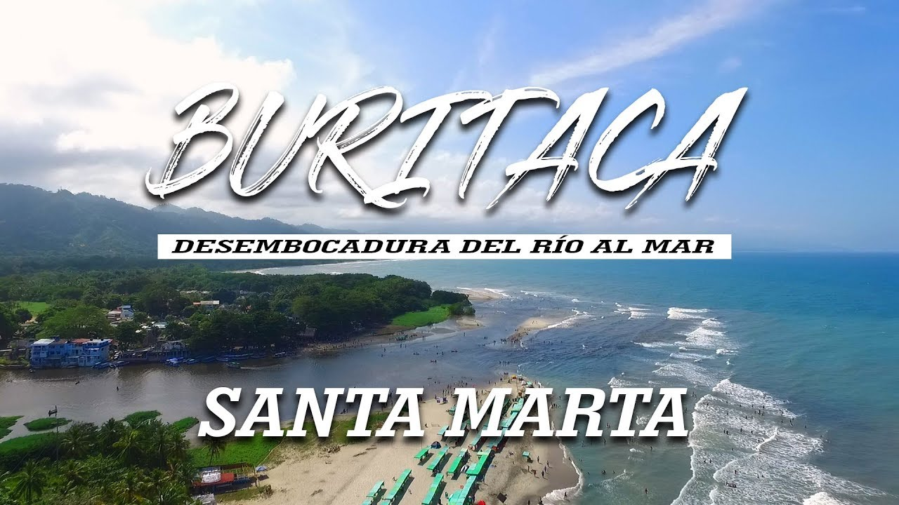 Playa Buritaca Santa Marta Colombia Youtube