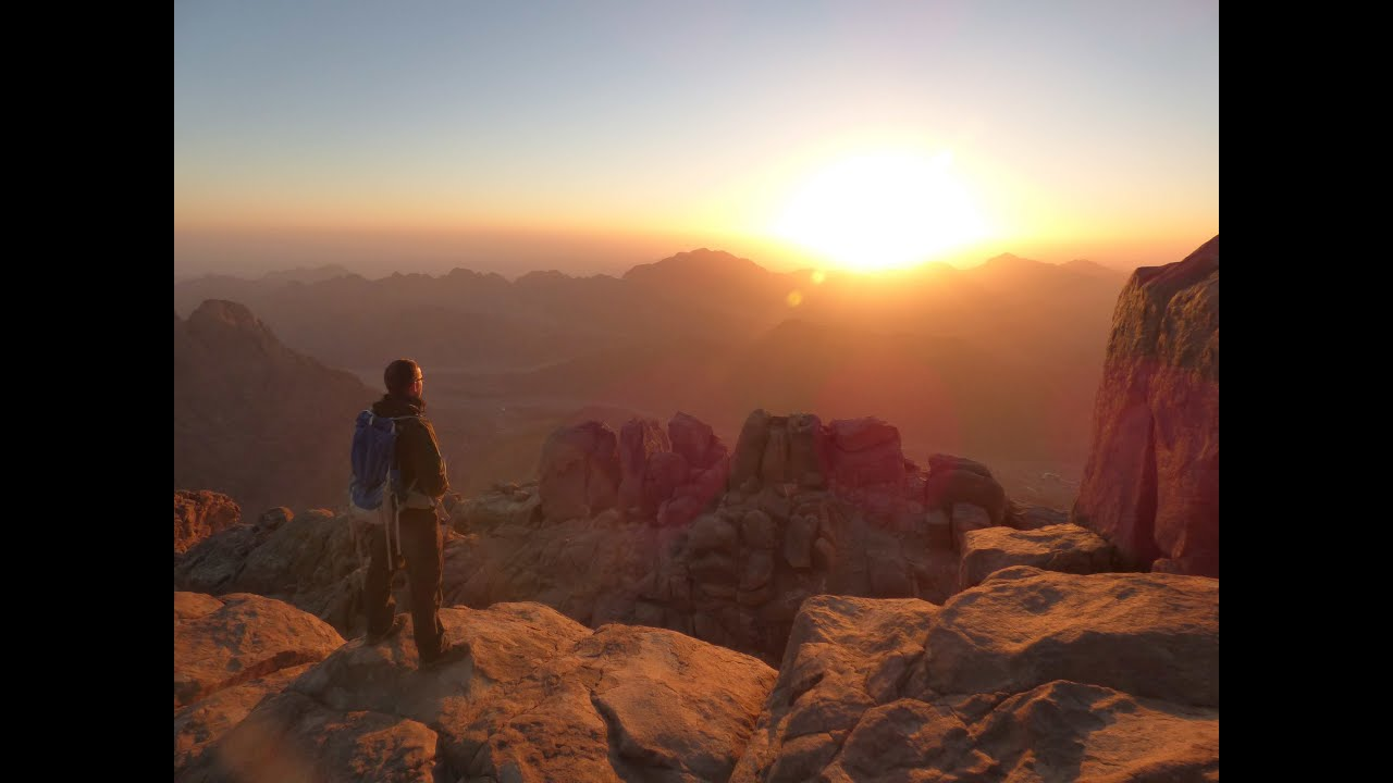 Hiking In Sinai Mount St Catherine And Mount Sinai Jebel Musa Egypt In Hd Youtube