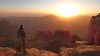 Hiking in Sinai - Mount St Catherine and Mount Sinai / Jebel Musa, Egypt in HD