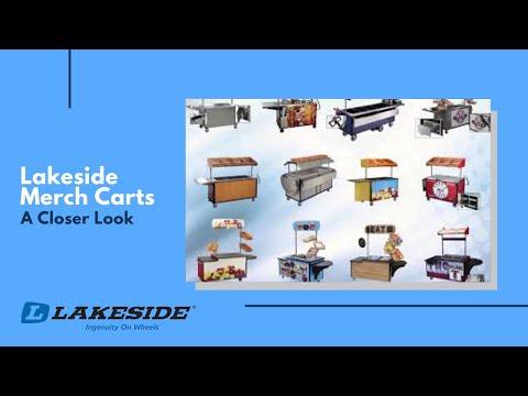 Lakeside Merch Carts - A Closer Look