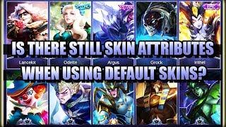 WILL YOU STILL GET SKIN ATTRIBUTES WHEN USING DEFAULT SKINS? 🤔