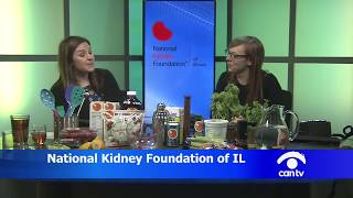 Kidneys in the Kitchen - Appetizers and Drinks