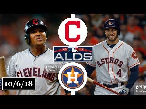 Cleveland Indians vs Houston Astros Highlights || ALDS Game 2 || October 6, 2018