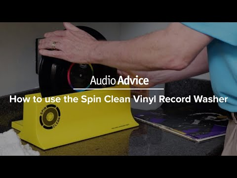 How to use the Spin Clean Vinyl Record Washer