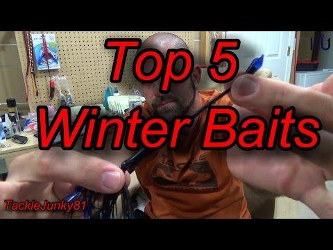 winter-bass-fishing---top-5-baits