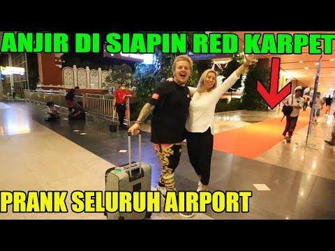 PRANK SELURUH AIRPORT | Di Kasih RED KARPET | Jro Putu Arnold