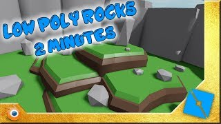 Low-Poly Rocks Tutorial | Roblox Studio & Blender