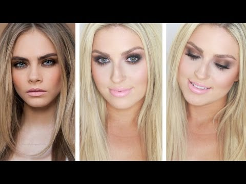 Cara Delevingne Makeup! ♡ Naked Palette! Smokey Bedroom Eyes   Dirty Bronze    YouTube