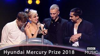 Wolf Alice win the Hyundai Mercury Prize 2018