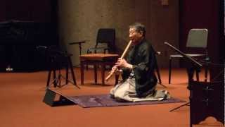 """""""The Sounds of Cherry Blossoms""""  Concert of Japanese Chamber Music   2.阿字観"""