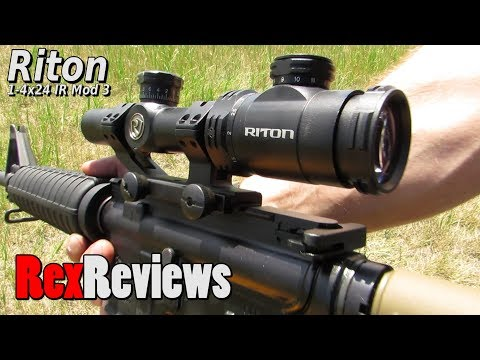 Riton RTS Mod 3 14x24 IR Scope ~ Rex Reviews
