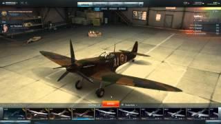 World Of War Planes Spitfire MK1 Gameplay