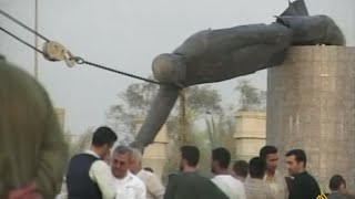 تداعيات انهيار نظام صدام حسين بالعراق