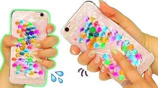 DIY LIQUID ORBEEZ PHONE CASE!
