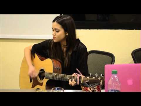 Megan Nicole Live in Singapore (radio live rehearsal)
