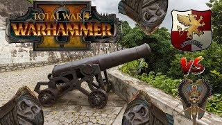 GREAT CANNON TIME | Empire vs Tomb Kings - Total War Warhammer 2