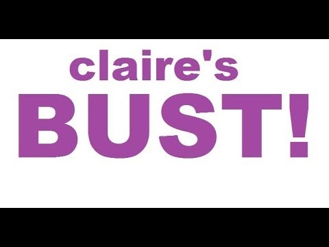 claire's nearly BANKRUPT My Reaction