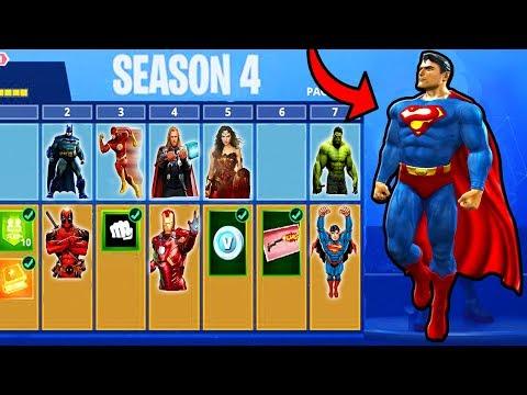 FORTNITE SEASON 4 *FREE* BATTLE PASS for SUBSCRIBERS! - NEW Season 4 UPDATE Tonight! (Fortnite LIVE) thumbnail