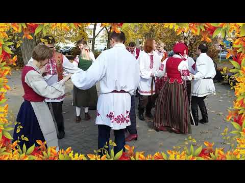 "Folk group ""Gamanina"" BSUIR, Minsk, Belarus"