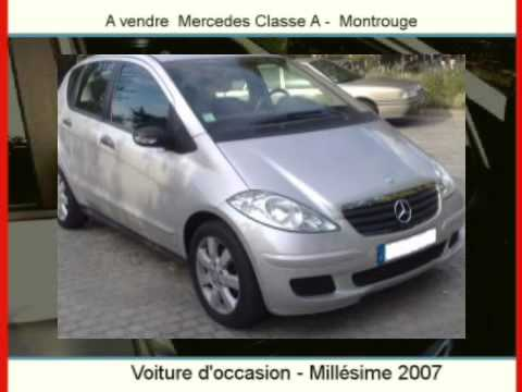 achat vente une voiture d 39 occasion mercedes classe a montrouge youtube. Black Bedroom Furniture Sets. Home Design Ideas