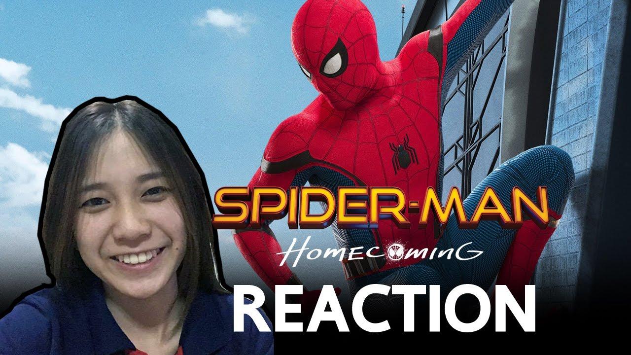 รีแอคชั่น ตัวอย่างที่ 2 Spider-Man: Homecoming