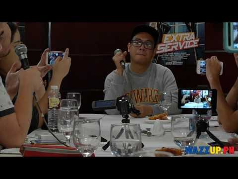 Extra Service Movie Blogcon with Direk Chris Martinez