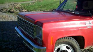 1975 Chrvrolet Dump truck project