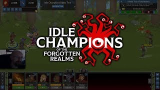 Alpha Gameplay - #1 Idle Champions of the Forgotten Realms [german]
