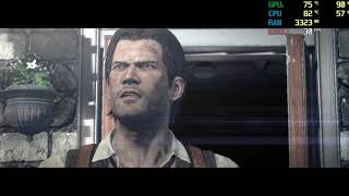 play The Evil Within on Nvidia Geforce 840M show FPS