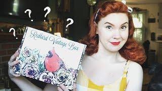 Mystery Vintage Goodies! || Redbird Vintage Box