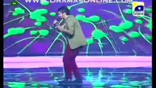 Asad Raza Sonu Singing on Musical Dance Party Song Pakistan Idol