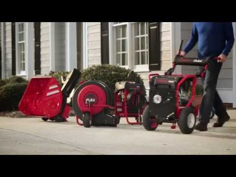 Troy-Bilt Flex outdoor power equipment system at Lowe's