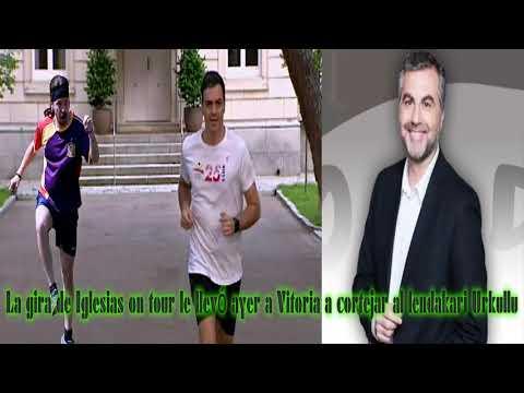 ALSINA:  La Gira De Iglesias On Tour Le Llevó Ayer A Vitoria A Cortejar Al Lendakari Urkullu