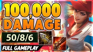 Download *50 KILLS* I BREAK THE URF DAMAGE RECORD (100,000+) - BunnyFuFuu Full Gameplay Mp3 and Videos