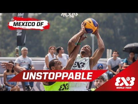 Unstoppable Paris Kyles - Mexico - 2015 FIBA 3x3 World Tour