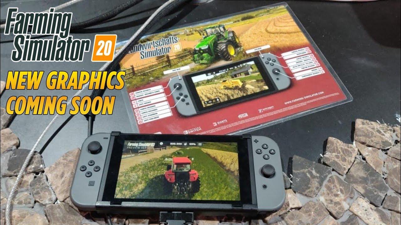 carte farming simulator 2020 Farming Simulator 2020 Preview Nintendo Switch | NEW GRAPHICS