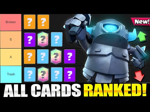 *NEW* Clash Royale CARD TIER LIST!! Ranking Every Card!! (May 2020)