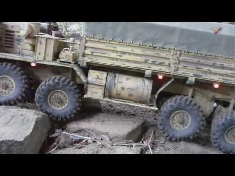 "OSHKOSH HEMTT M 977 "" PART 1 "" SCALE CRAWLER COOPERATION RUHR"