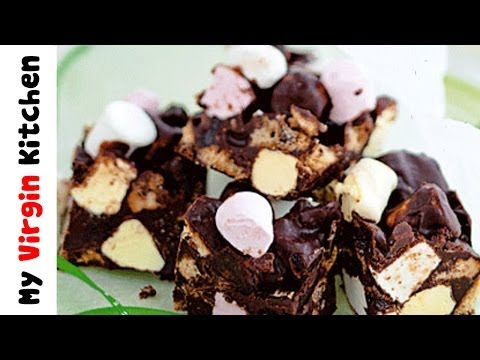HOW TO MAKE ROCKY ROAD
