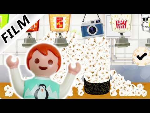 Playmobil Film Deutsch | EMMA MACHT SUSHI POPCORN - Oh Sushi App Spielen | Familie Vogel